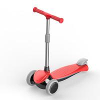 KinderKraft 德国 儿童滑板车三轮踏板车滑滑车车身车轮闪光2-3-5-7岁高度可调童车