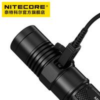 NITECORE奈特科爾MH12小巧強光高亮usb充電戰術超亮EDC小直手電筒