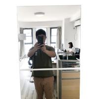 立體鏡面墻貼自粘創意鏡子 20cm 一片