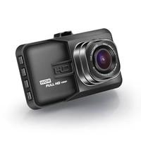 磐鼎 P606 汽車載新款隱藏式行車記錄儀 鋅合金3寸屏單雙鏡頭高清夜視倒車影像一體機(標配(無內存))