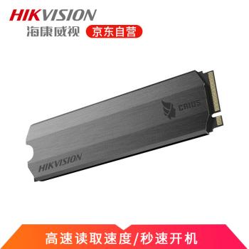 海康威视SSD固态硬盘C2000系列独立缓存高速传输SSD卡NVME协议M.2接口 C2000-1T(东芝颗粒)