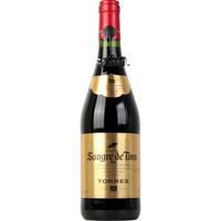 TORRES 桃乐丝 公牛血 金标干红葡萄酒 750ml