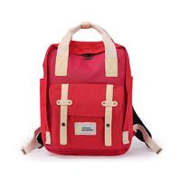 網易考拉黑卡會員 : 國家地理雙肩包電腦包女15.6寸大容量戶外書包防水旅行休閑背包時尚學生男情侶包