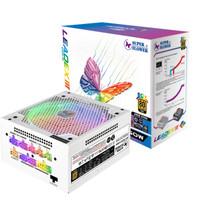 双11预告、新品首降 : SUPER FLOWER 振华 LEADEX ARGB 额定550W 电源(80PLUS金牌/全模组/十年质保)