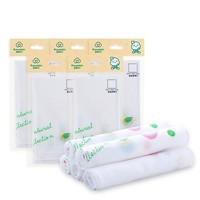 21日0點、雙11預售 : PurCotton 全棉時代 嬰兒口水巾 3條x6袋