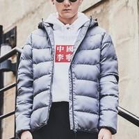 LI-NING 李宁 AYMM159 男士训练系列羽绒服
