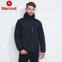 Marmot 土拨鼠 Membrain L40460 男款抓绒内胆三合一冲锋衣