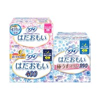 18日10點 : unicharm 尤妮佳 溫柔肌日夜用組合衛生巾 3包 共43片 *2件