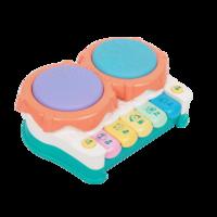 音樂手拍鼓嬰兒玩具 益智早教兒童拍拍鼓6個月寶寶玩具 0-1歲2歲