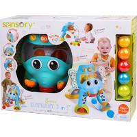 美國infantino嬰蒂諾歡樂大象投籃游戲套裝寶寶早教聲光兒童玩具男孩女孩益智玩具