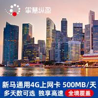 億點 新加坡/馬來西亞2國通用 3-30天電話卡 4G高速流量