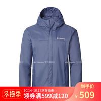 Columbia/哥伦比亚户外19新品秋冬男子奥米防水冲锋衣RE2433 478 XL