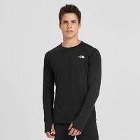 北面(The North Face)19秋冬新品男士吸濕排汗運動長袖T恤|3SG8