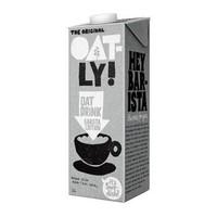 京东PLUS会员 : 德国进口 OATLY 咖啡大师燕麦饮 咖啡伴侣植物蛋白饮料燕麦奶 1L 单支装 *2件
