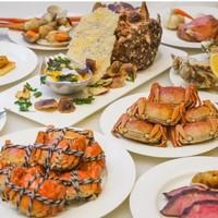 吃货福利 : 生蚝/澳带/鹅肝/牛排统统不限量!上海万达瑞华酒店大闸蟹+海鲜主题自助晚餐