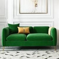 野村良品 小户型轻奢布艺双人沙发 140cm