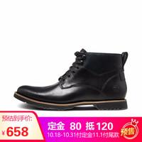 Timberland添柏岚户外男鞋新款防水中帮商务休闲鞋|A1R34 A1R34M/黑色 41.5