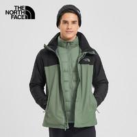 雙11預售 : THE NORTH FACE 北面 3CGM 男款羽絨三合一沖鋒衣