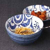 MinoYaki 美浓烧 日本进口手纸赤绘红鱼系列陶瓷碗碟盘餐具10件套