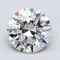 Blue Nile 2.02克拉 圆形切割钻石(切工EX,成色D,净度VVS1)