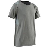 迪卡儂 男童青少年體能T恤500系列 - 灰色