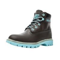 12日0点:CAT 卡特 LYRIC P310988I3BDC55 女士撞色工装靴