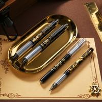 M&G 晨光 海贼王系列按动中性笔 4支装 送笔盒