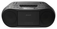 Sony 索尼 CFDS50 50 经典 CD 与磁带扬声器带收音机(MEGA BASS; FM/AM)?–?经典收藏