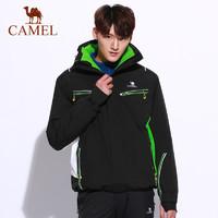 CAMEL骆驼户外滑雪服 冬季情侣款男女防风保暖户外滑雪服