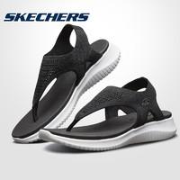Skechers斯凯奇凉鞋女鞋2019夏季新款编织夹趾沙滩鞋凉拖鞋32493