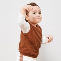 迷你巴拉巴拉嬰兒背心針織衫春秋裝新款寶寶純棉卡通可愛毛衣
