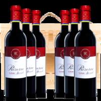 DBR 拉菲 法國AOC紅酒整箱原瓶進口 珍藏波爾多干紅葡萄酒750ML*6