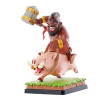 部落冲突 皇室战争 野猪骑士 珍藏版手办