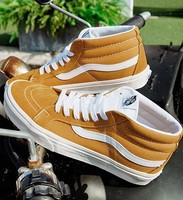Vans 范斯 SK8 Mid 中性款帆布鞋