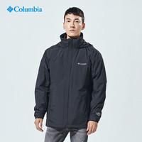 京東PLUS會員 : 哥倫比亞(Columbia)抓絨沖鋒衣 三合一防風防水保暖加厚 WE7211