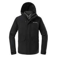 京東PLUS會員 :  Columbia 哥倫比亞  WE1499 男子三合一熱能保暖沖鋒衣