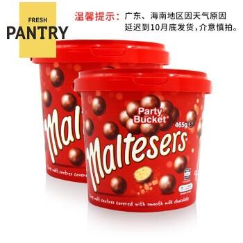 Maltesers 麦提莎 麦丽素夹心巧克力桶 465g