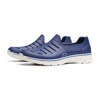Skechers斯凱奇男士健步鞋2019春季新款輕便一腳蹬休閑綜合訓練低幫運動鞋54271