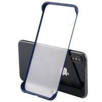 鸿慕 iPhone 6-XS Max 超薄边框磨砂手机壳