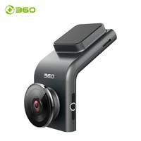 360行车记录仪 G300 迷你隐藏 高清夜视 无线测速电子狗一体 黑灰色+64g卡组套产品