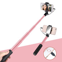 自拍桿通用型迷你無線藍牙自拍神器