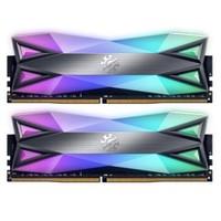 1日0点、历史低价 : ADATA 威刚 XPG 龙耀D60G 16GB(8GBx2)DDR4 3200 RGB台式机内存条