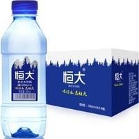 88VIP:恒大 原味 苏打水 360ml*24瓶 +凑单品