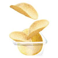 樂事(Lay's) 休閑零食 無限組合 薯片 原味 104克*2 208克 *2件