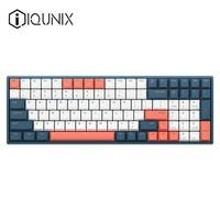 新品发售、双11预售:IQUNIX F96 珊瑚海 机械键盘(Cherry轴、PBT)
