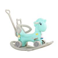 木馬兒童搖馬寶寶一周歲生日禮物玩具搖搖車兩用嬰兒搖椅搖搖馬