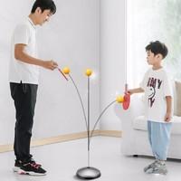 健格 乒乓球训练器 弹力软轴 1杆 3球