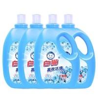 Baimao 白猫 高效洁净洗衣液 3kg*4瓶 *2件