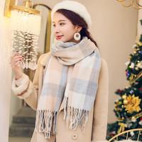 秋冬披肩围巾