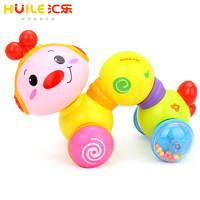 汇乐玩具爬行小虫 997 婴幼儿宝宝学步爬亲益智早教音乐玩具